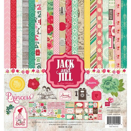 Echo Park - Jack and Jill Girl Collection - Collection Kit