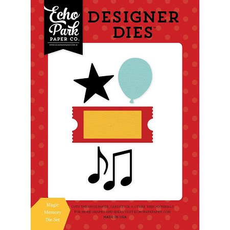 Echo Park - Designer Dies - Magical Adventure - Magic Memory