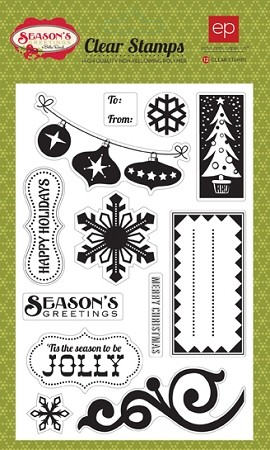 Echo Park-Season's Greetings-Clear Stamps :)