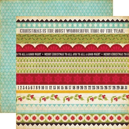 Echo Park-Season's Greetings-Paper-Borders