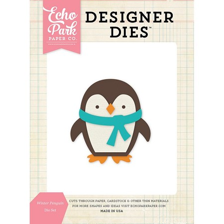 Echo Park - Designer Dies - Winter Penguin Die Set