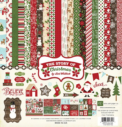 Echo Park - The Story of Christmas Collection - Collection Kit