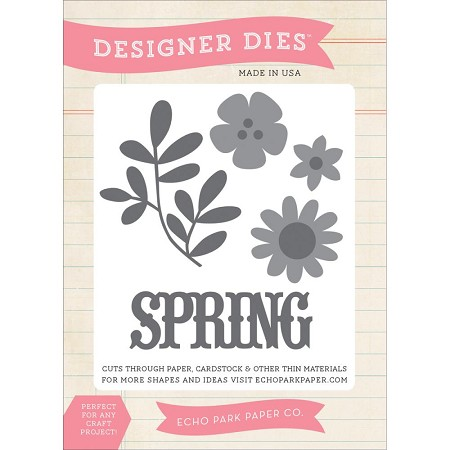 Echo Park - Sunny Days Ahead Collection - Designer Die - Spring Flowers
