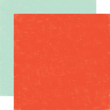"Echo Park - Sweet Summertime Collection - 12""x12"" Cardstock - Red / Lt. Blue"