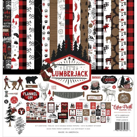 Echo Park - Let's Lumberjack Collection - Collection Kit