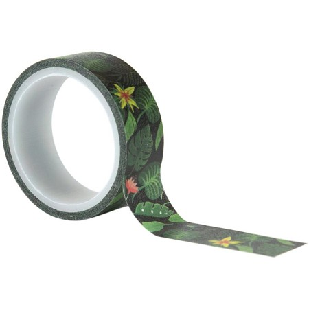 Echo Park - Animal Safari Collection - Jungle Palms Decorative Tape