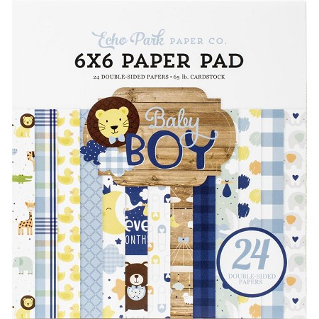 Echo Park - Baby Boy Collection - 6x6 Paper Pad