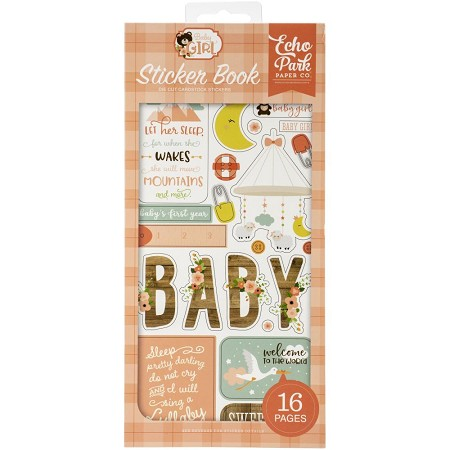 Echo Park - Baby Girl Collection - Sticker Book