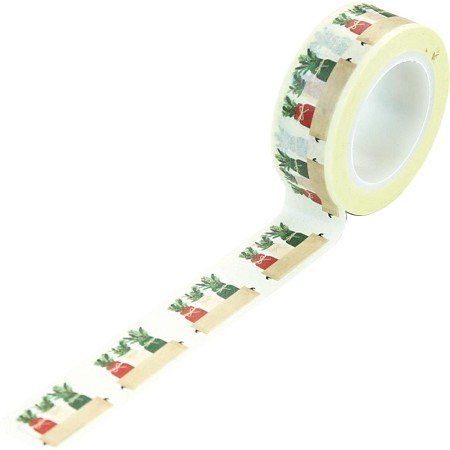 Echo Park - A Cozy Christmas Collection - Holiday Jars Decorative Tape
