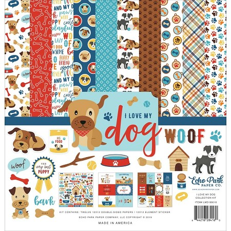 Echo Park - I Love My Dog Collection  - Collection Kit