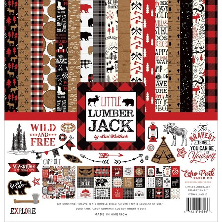 Echo Park - Little Lumberjack Collection - Collection Kit