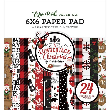 Echo Park - A Lumberjack Christmas Collection - 6x6 Paper Pad