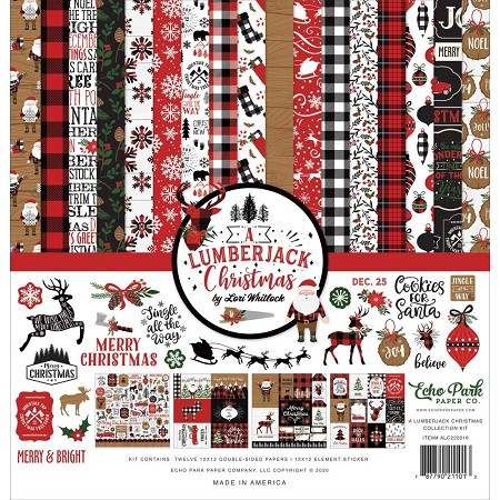 Echo Park - A Lumberjack Christmas Collection  - Collection Kit