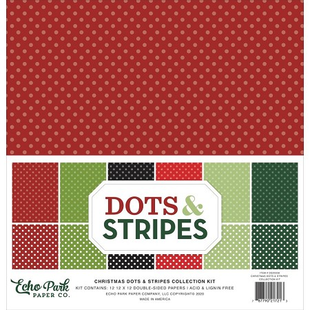 Echo Park - Christmas Dots & Stripes Collection Kit
