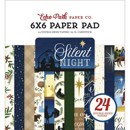 Echo Park - Silent Night Collection - 6x6 Paper Pad