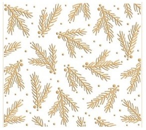 Leane Creatif - LeCrea Design Embossing Folder - Christmas Branches