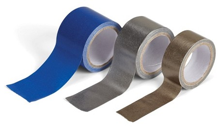 Ek Success - Jolee's Botique - Paper Tape Set - Blue and Silvers