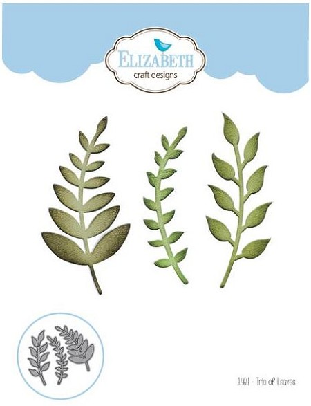 Elizabeth Craft Designs - Die by Joset Designs - Trio of Leaves