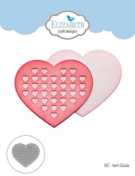 Elizabeth Craft Designs - Die - Heart Cutouts
