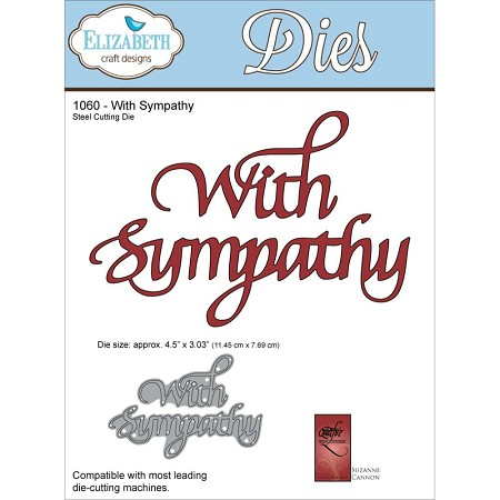 Elizabeth Craft Designs - Die - by Suzanne Cannon - With Sympathy