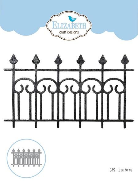 Elizabeth Craft Designs Die Iron Fence