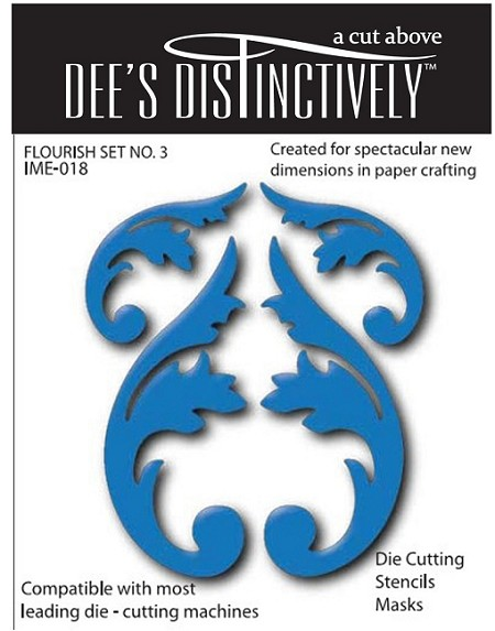 In The Making - Dee's Distinctively Die - Flourish Set 1