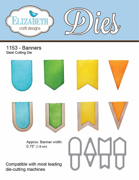 Elizabeth Craft Designs - Die - Banners