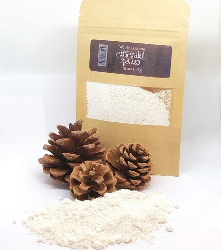 Emerald Creek - White Jasmine Aroma embossing powder