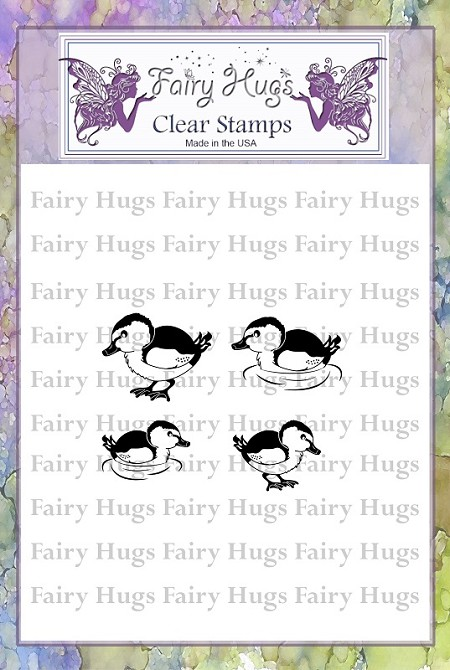 Fairy Hugs - Clear Stamps - Duck Set