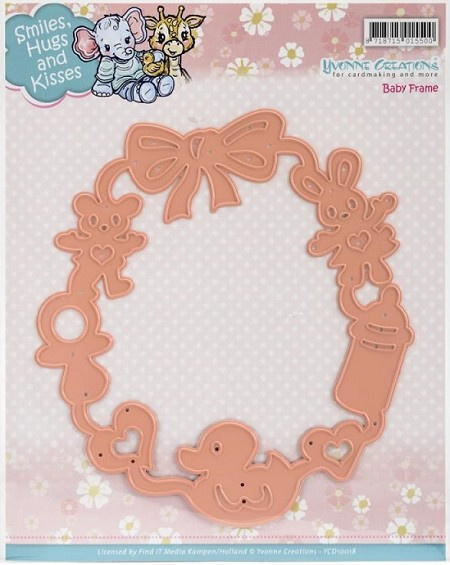 Find It Trading - Yvonne Creations Die - Baby Frame