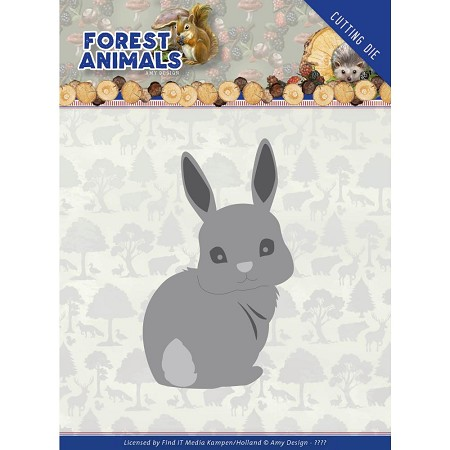 Find It Trading - Amy Design Die - Forest Animals Bunny