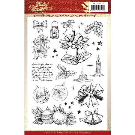Find It Trading - Precious Marieke Clear Stamps - Touch of Christmas