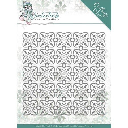 Find It Trading - Yvonne Creations Die - Wintertime Snowflake Pattern