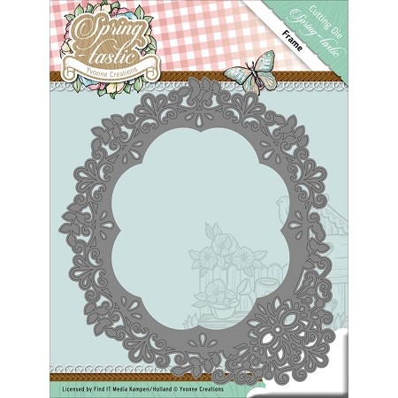 Find It Trading - Yvonne Creations Die - Spring-Tastic Frame