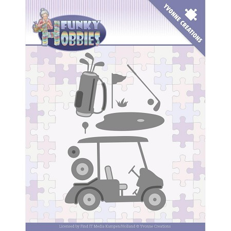 Find It Trading - Yvonne Creations Die - Funky Hobbies Golf