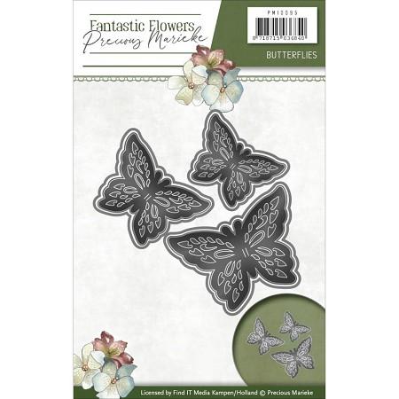 Find It Trading - Precious Marieke Die - Fantastic Flowers Butterflies