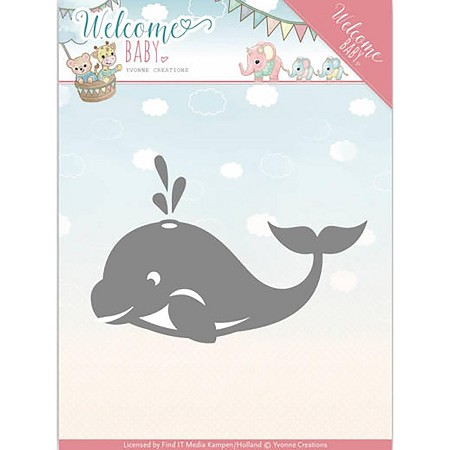 Find It Trading - Yvonne Creations Die - Welcome Baby Little Orca