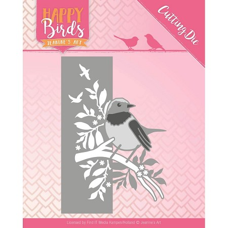 Find It Trading - Jeanine's Art Die - Happy Birds Bird Edge