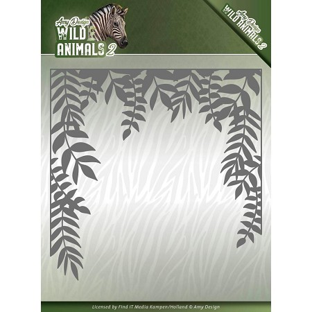 Find It Trading - Amy Design Die - Wild Animals 2 Jungle Frame
