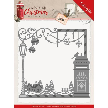 Find It Trading - Amy Design Die - Nostalgic Christmas Mail Box Frame