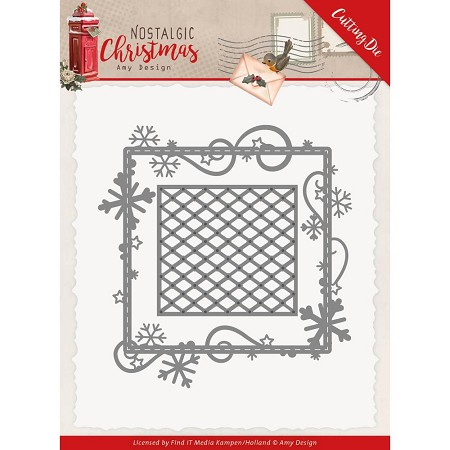 Find It Trading - Amy Design Die - Nostalgic Christmas Snowflake Frame