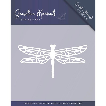 Find It Trading - Jeanine's Art Die - Sensitive Moments Dragonfly