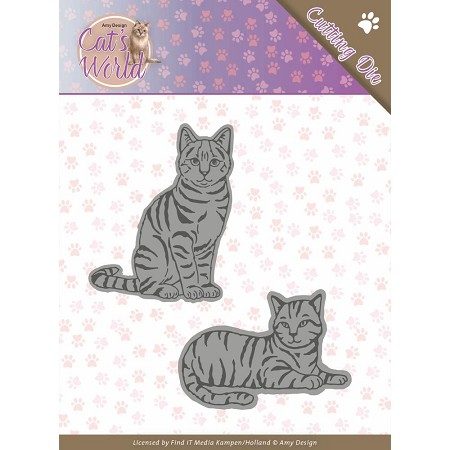Find It Trading - Amy Design Die - Cat's World Sweet Cats