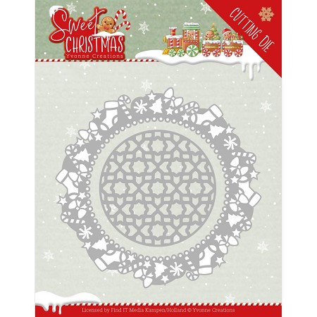 Find It Trading - Yvonne Creations Die - Sweet Christmas Frame
