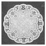 "5"" French Lace paper doilies (pkg of 20)"