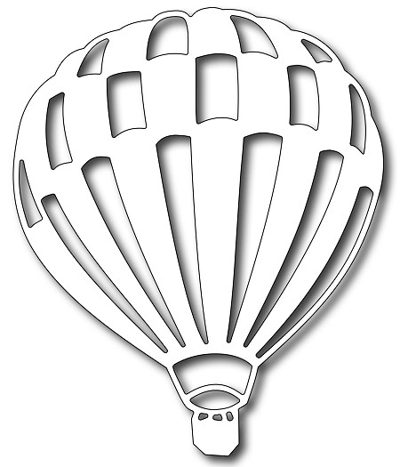 Frantic Stamper Precision Die - Hot Air Balloon