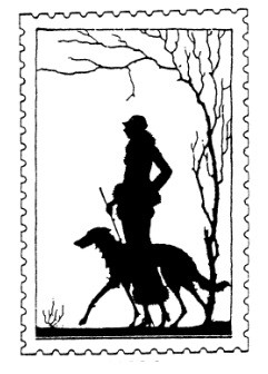 Frantic Stamper Cling-Mounted Rubber Stamp - Walk the Dog Post