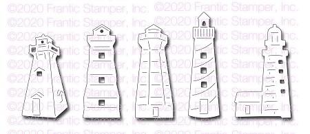Frantic Stamper Lighthouses Die