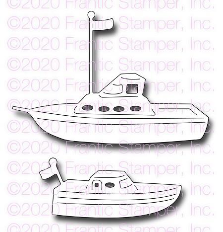Frantic Stamper Pleasure Boats Die