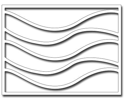 Franitc Stamper Rolling Wave Card Panel